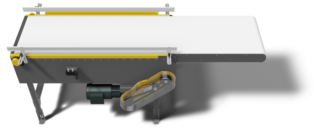 Retractable Modular Belt Conveyor