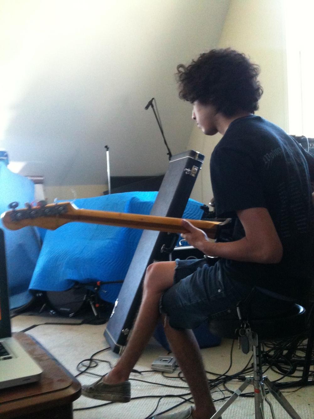 drake playing bass.JPG