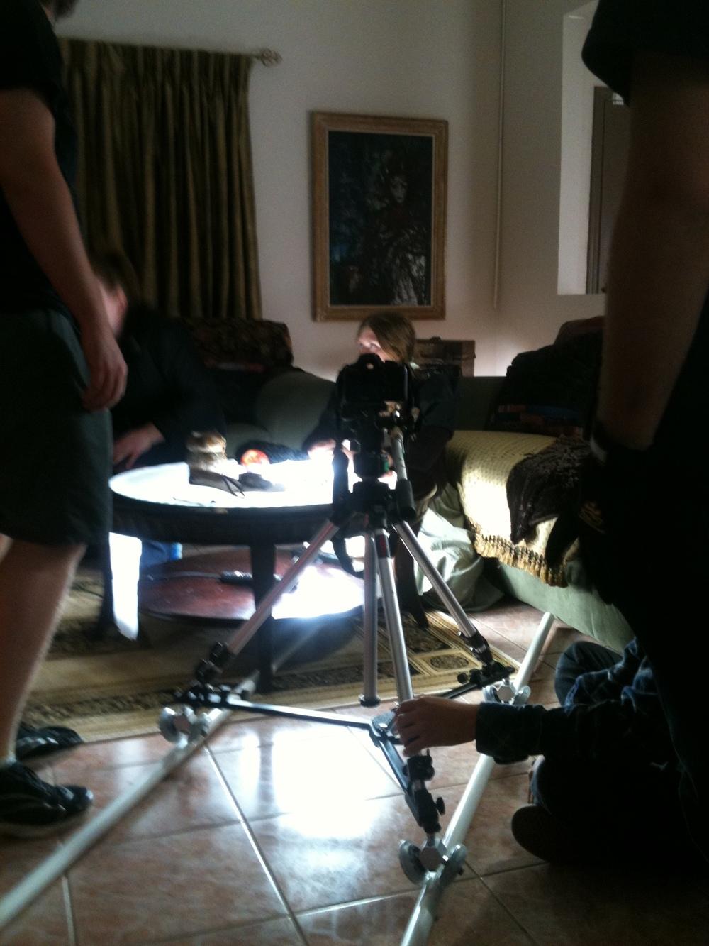 Kubrick Table and Camera
