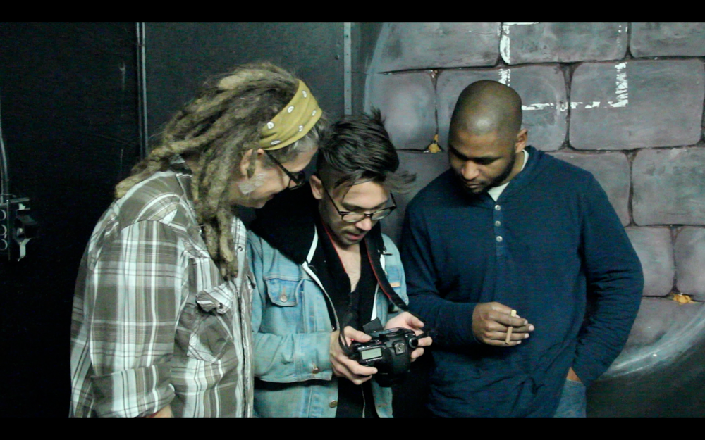 Jacob shows Mike and Anthony the footage so far. Anthony is unimpressed.