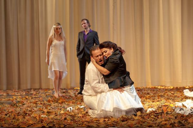 Theater Aachen, Rusalka   photo credit: Ludwig Koerfer  with: Linda Ballová, Jacek Janiszewski, Irina Popova
