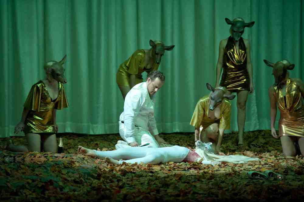 Theater Aachen,  Rusalka   photo credit: Ludwig Koerfer  with: Camille Schnoor