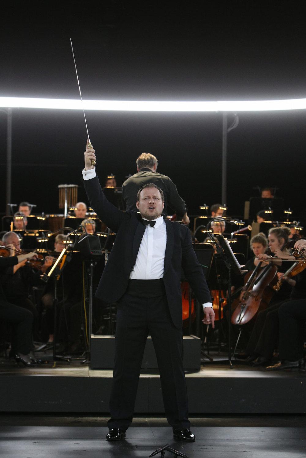 Theater Bremen, Parsifal    with: Markus Poschner, Bremer Philharmoniker    photo credit: Jörg Landsberg