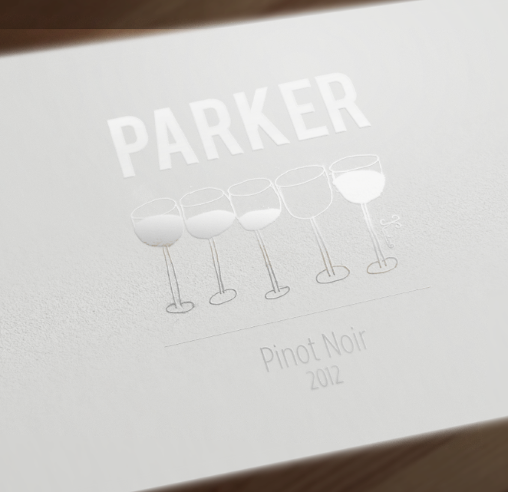 A wine label concept.