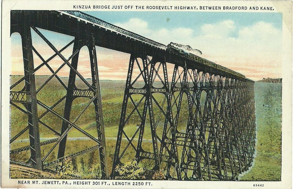 Kinzua Bridge - before the fall.