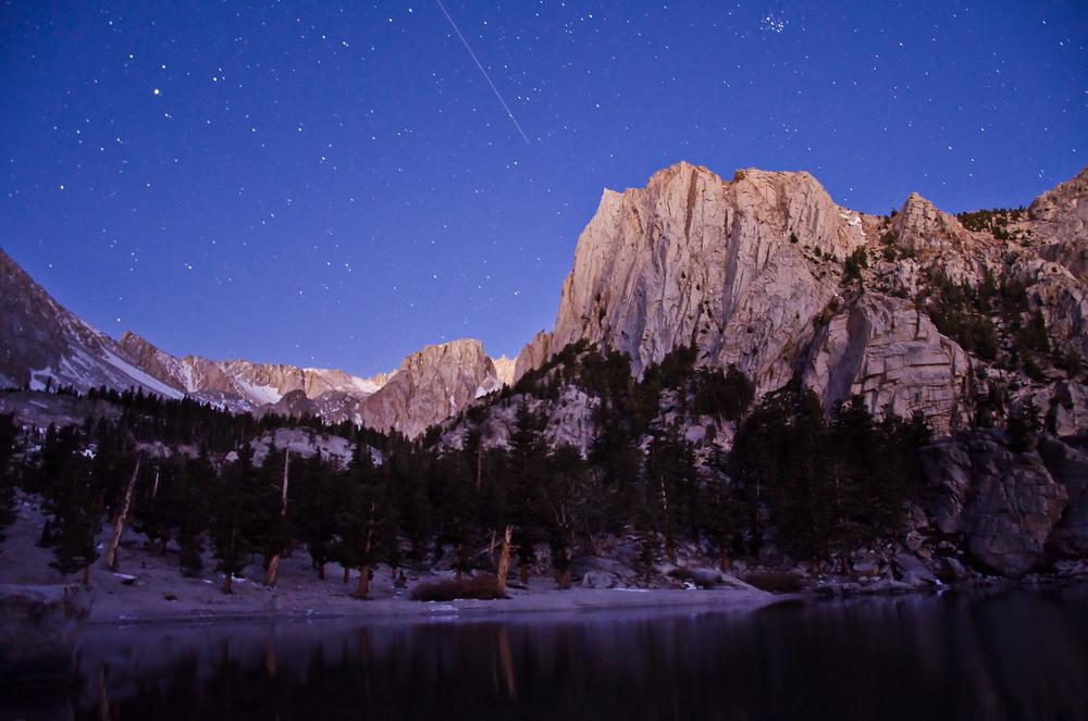 Lone Pine Lake Dawn