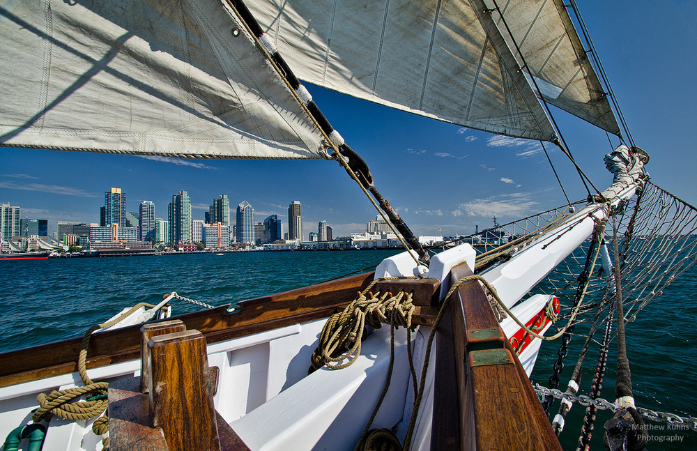 San Diego Off The Port Bow
