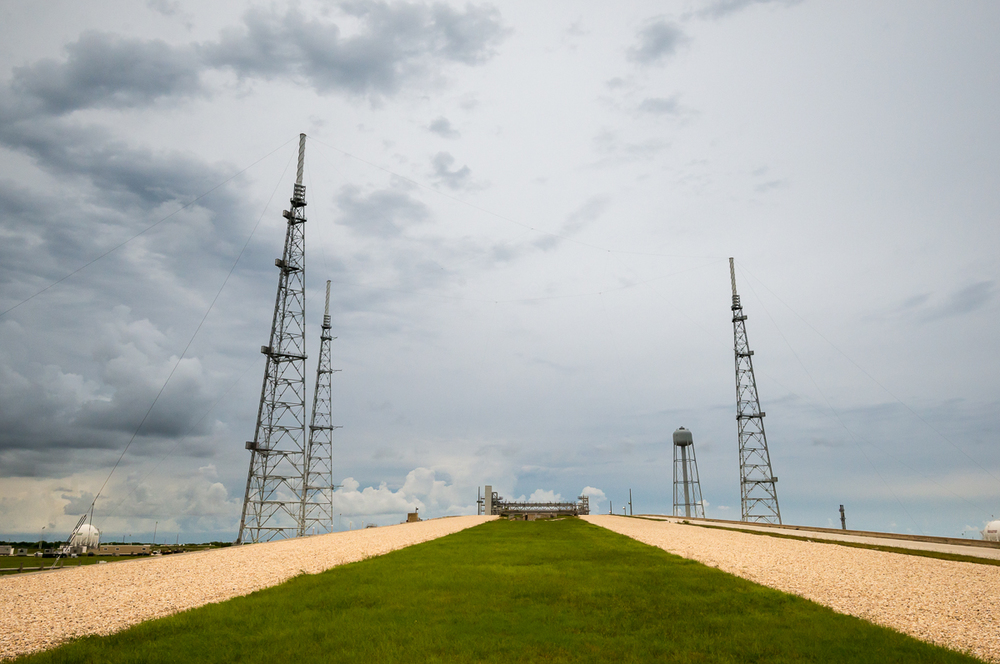 The crawlerway up to pad 39B