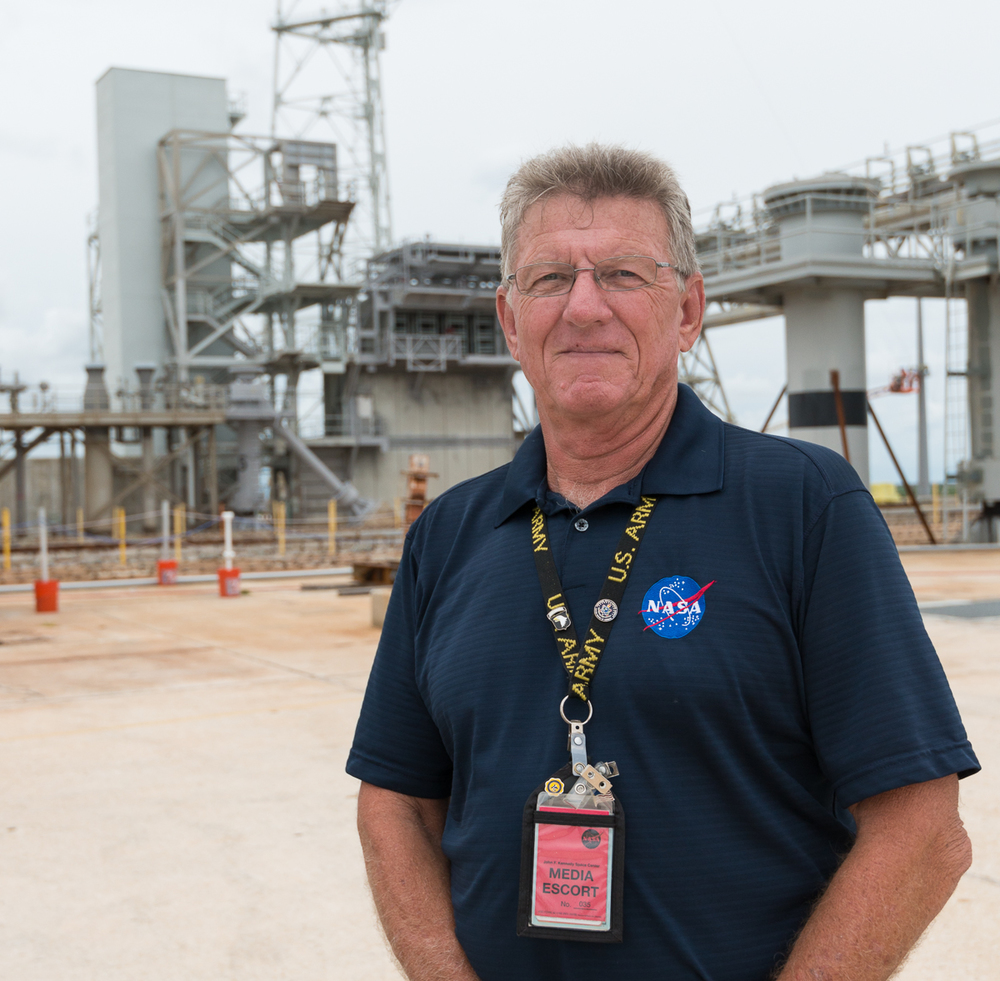 One of our guides.  Craig was a payload safety engineer for over 110 Space Shuttle launches!