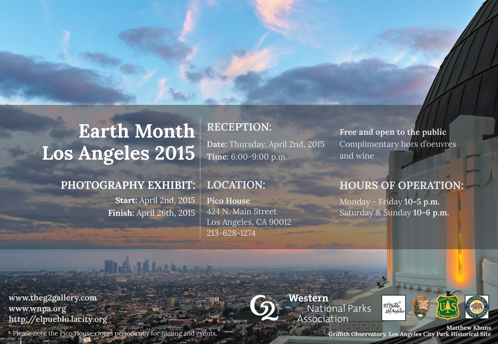 Earth Month Los Angeles 2015 Exhibit