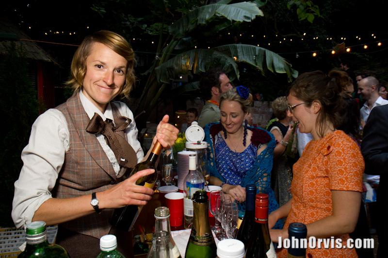 Reaux serves drinks