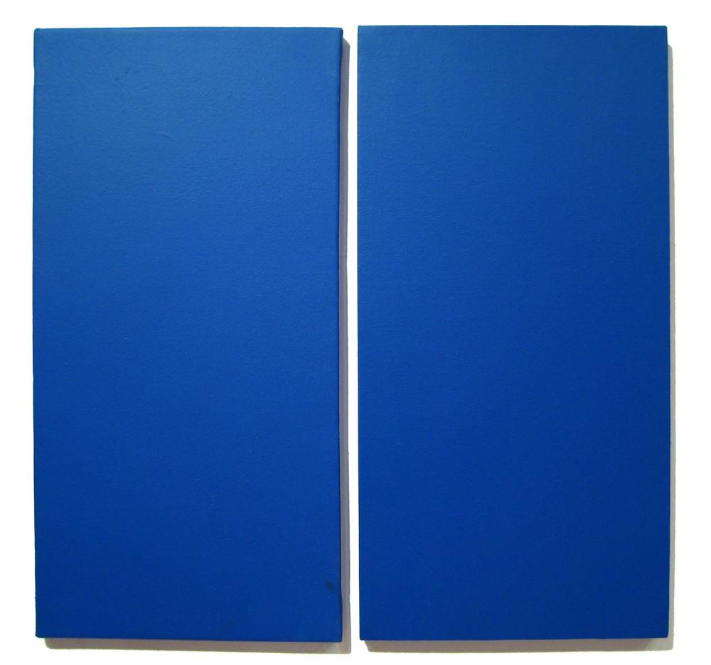 Blue Diptych