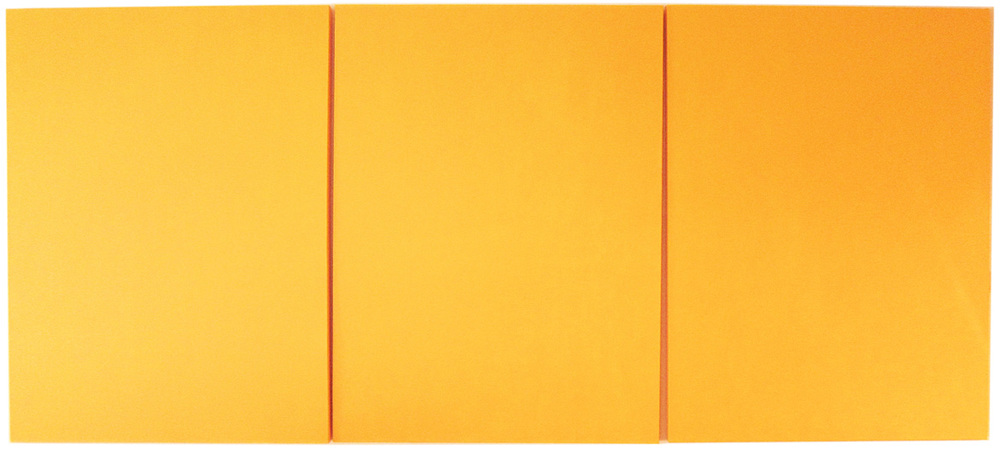 Yellow Triptych