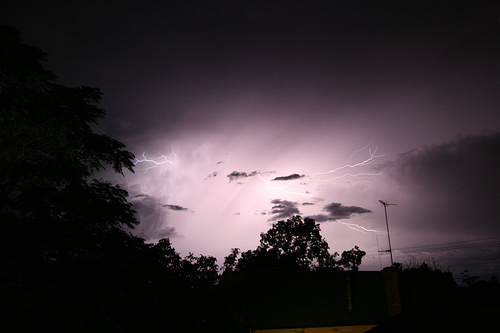 Images of Lightning over Tatura