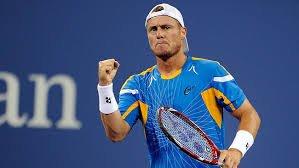 Lleyton Hewitt takes on Mikhail Youzhny at the US Open
