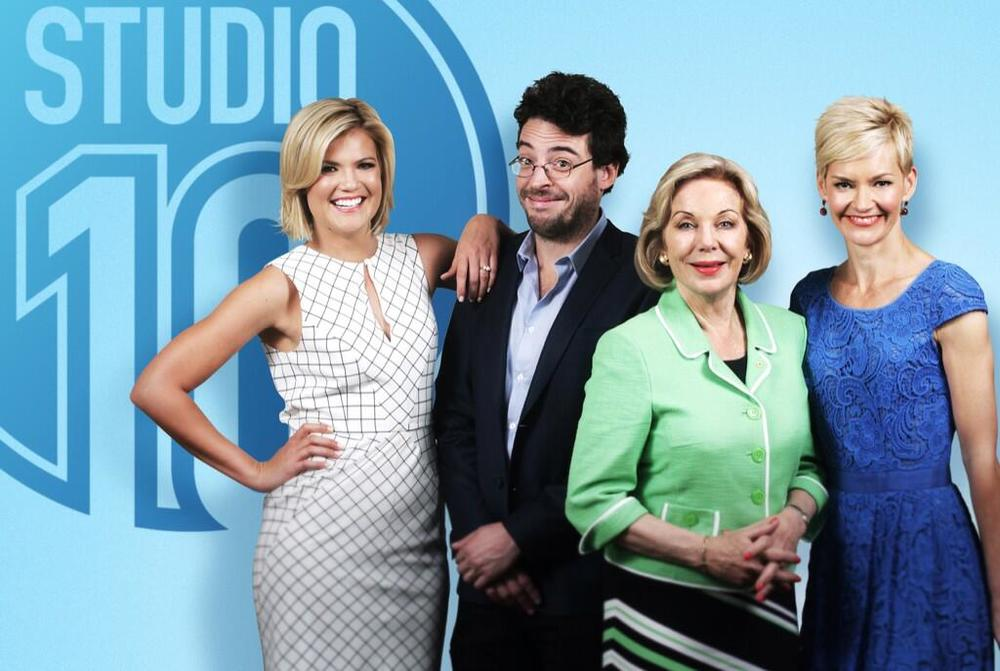 Sarah Harris, Joe Hildebrand, Ita Buttrose,  and Jessica Rowe