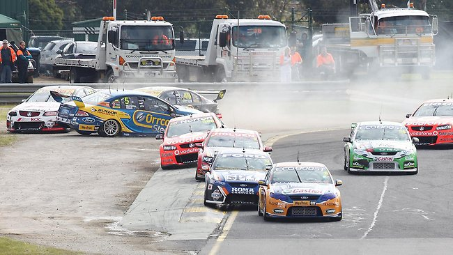 The 2012 Sandown 500 was a bruising affair
