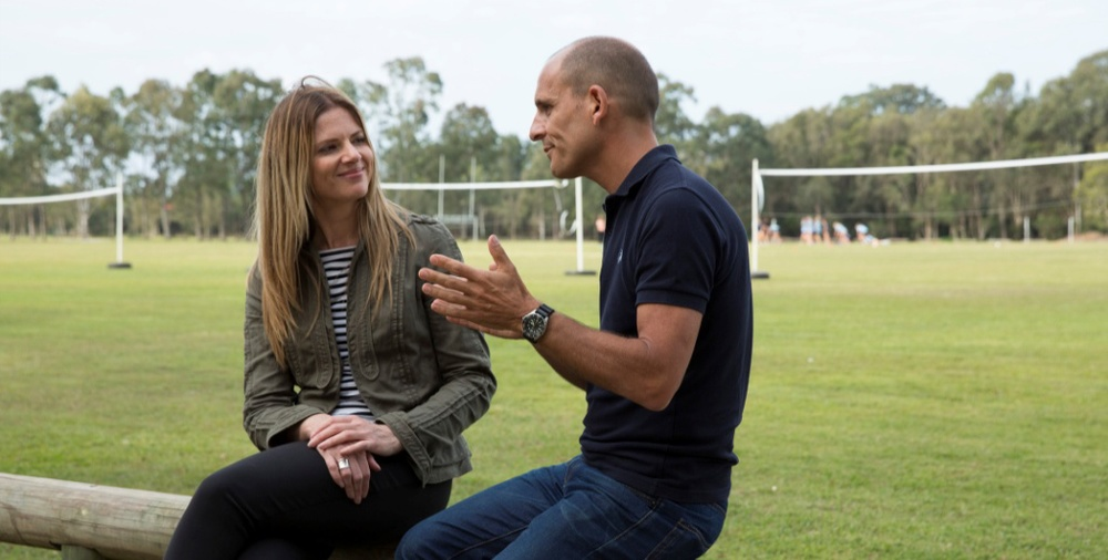 Julia Zemiro and Carl Barron