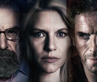 Mandy Patinkin, Claire Danes and Damien Lewis return in Season 3 of Homeland