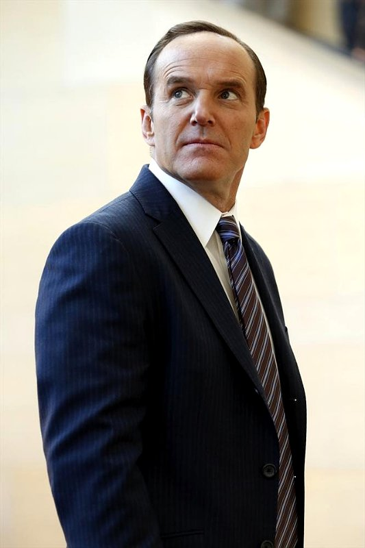 Agent Phil Coulson, played by actor Clark Gregg