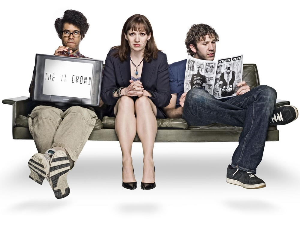 THE I.T. CROWD: THE INTERNET IS COMINGAUSTRALIAN PREMIEREWednesday 11thDecember at 9pm