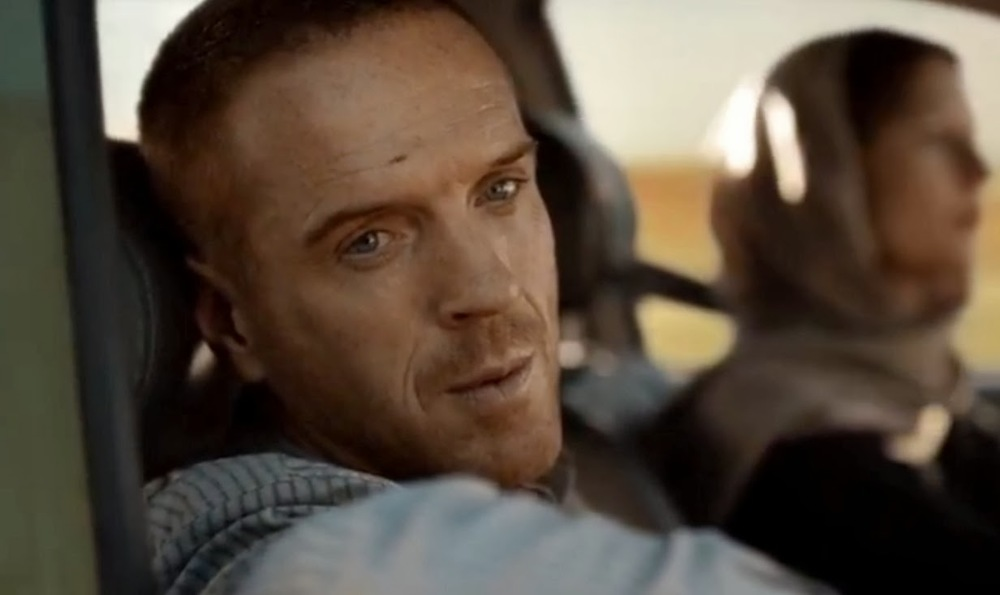 Nicholas Brody played by Damian Lewis