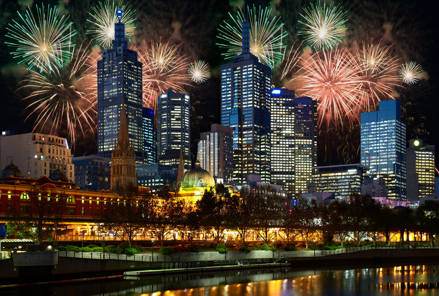 Melbourne New Year's Eve Fireworks Live On Seven — DeciderTV