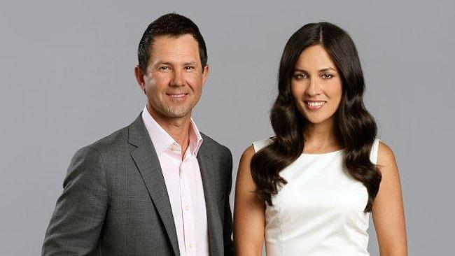 Ricky Ponting and Mel McLaughlin