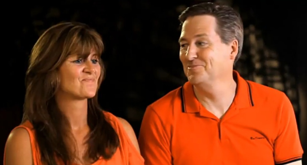 Tim and Natalie Nobes            image - Seven Network