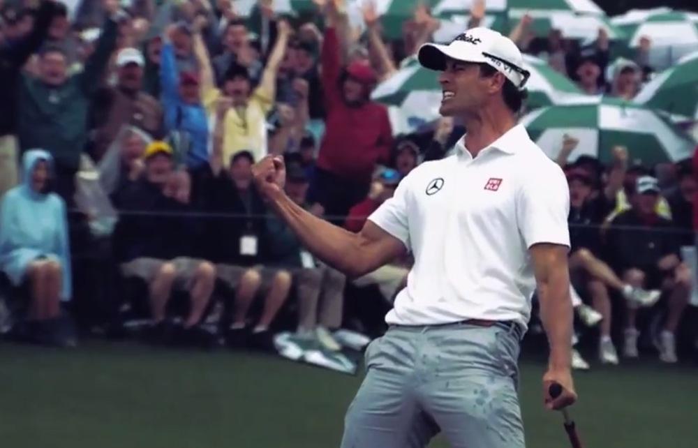Adam Scott winning the 2013 US Masters image - Fox Sports