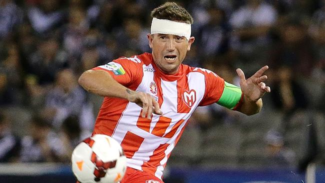 Melbourne Heart, will ride the emotion of Harry Kewell's final game.  image - News Limited