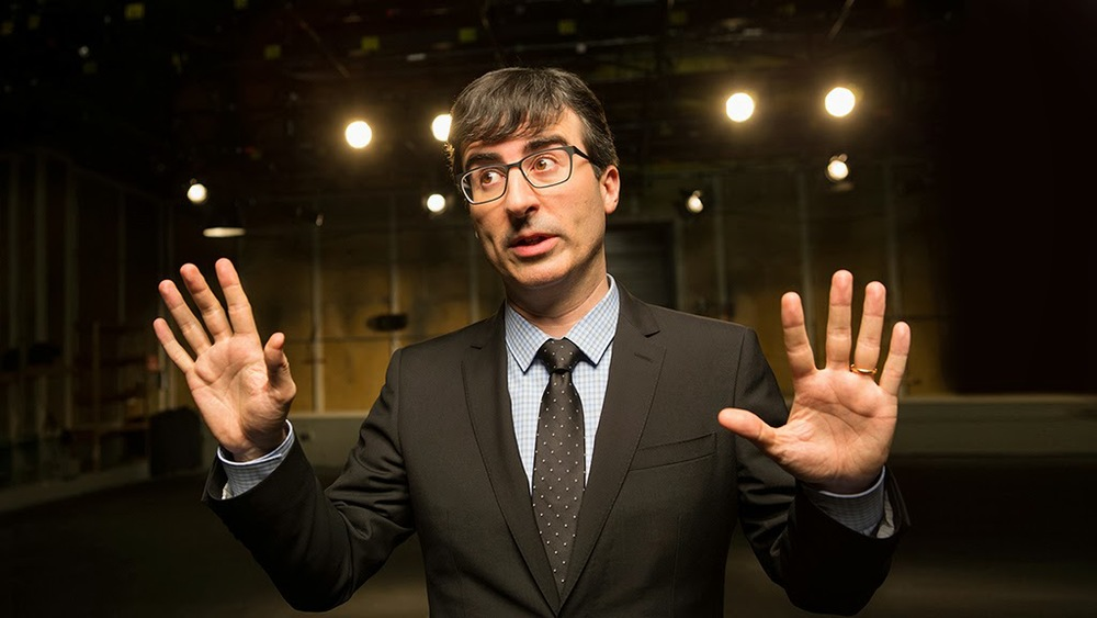 John Oliver returns to The Comedy Channel with Last Week Tonight image - HBO
