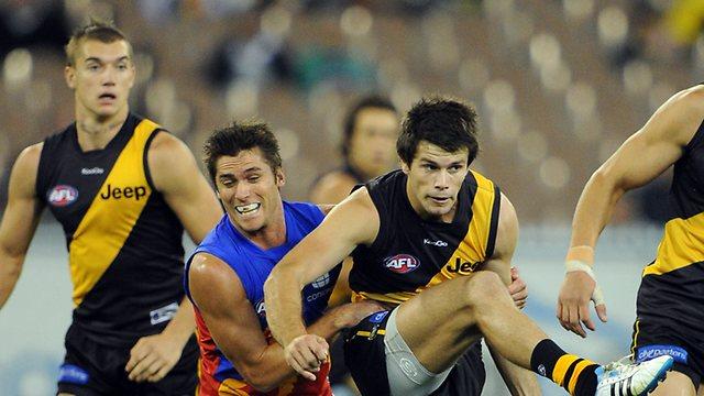 Brisbane Lions vs Richmond Tigers image - Michael Dodge / HWT Image Library