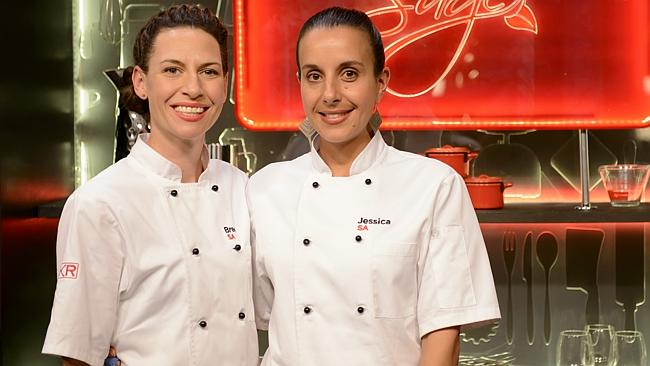 Bree and Jessica have confirmed their place in tonights My Kitchen Rules grand final. image - news.com.au