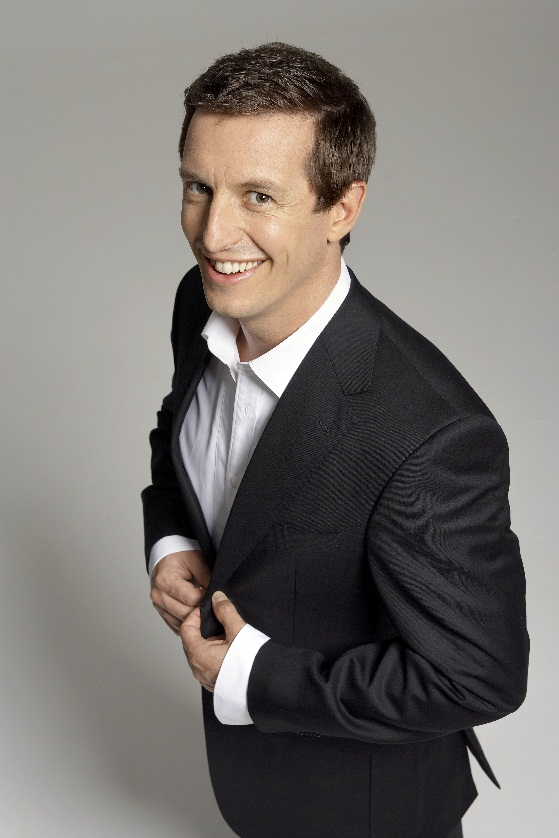 Rove McManus returns to Australia next week as The Project's special guest co-host. image - supplied