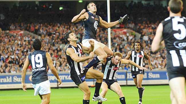 Collingwood vs Carlton  image - Herald-Sun