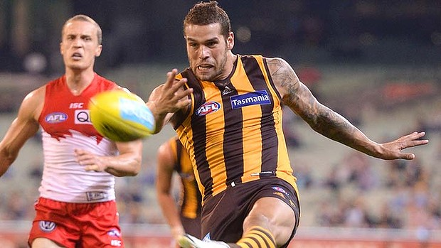 Sydney vs Hawthorn - Buddy Franklin will be wearing a different jumper in 2014 image - TheAge.com.au