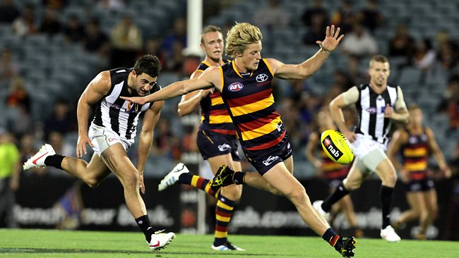 Adelaide vs Collingwood image - news.com.au