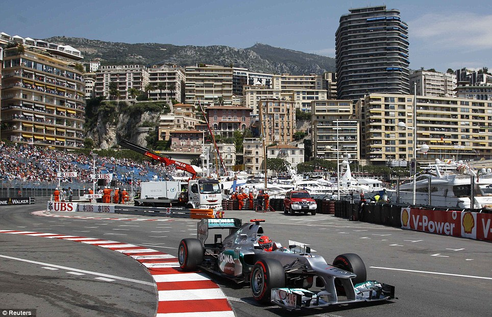 Monaco Grand Prix image - Reuters