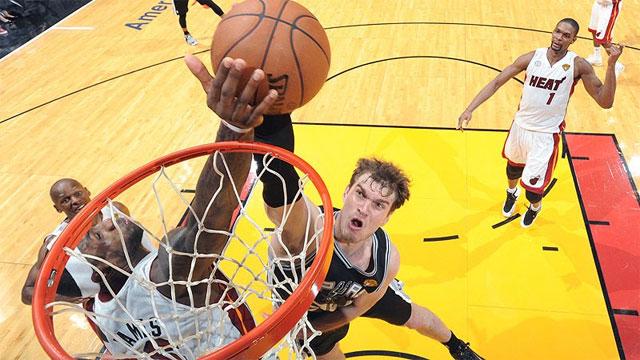2014 NBA Finals – San Antonio Spurs v Miami Heat image - supplied