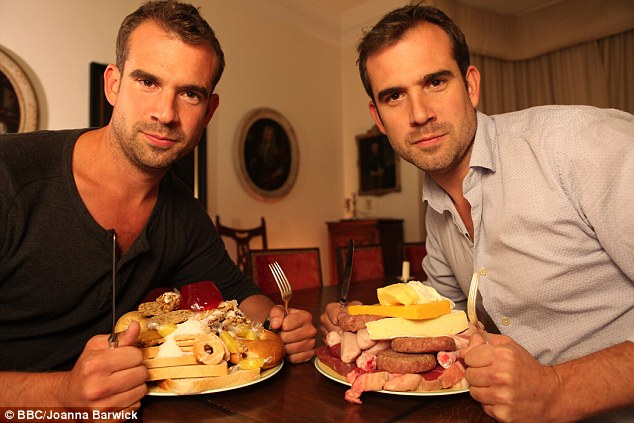 Twin doctors Alexander and Chris Van Tullekan take the Fat v Sugar challenge  image - supplied