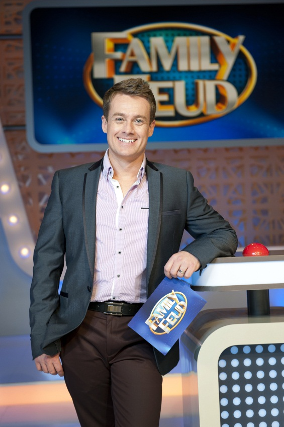 Grant Denyer is ready for a 'Family Feud' image - supplied