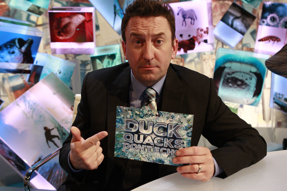 Lee Mack presents Duck Quacks Don't Echo on SBS One image - supplied