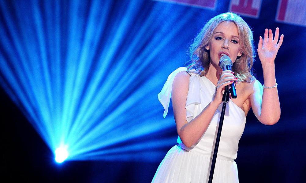 Kylie Minogue to perform live tonight on second final of The Voice image - The Guardian