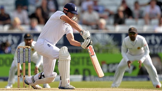 England captain Alastair Cook will need a big series against India to save his captaincy.  Source:PAUL ELLIS / AFP