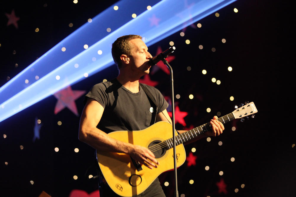 Chris Martin  image source: Foxtel - Copyright: Belinda Dipalo 2014
