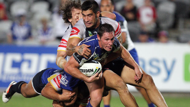 The Bulldogs will be looking to return to the winner's circle when they host a Cowboys outfit, desperate to keep their finals hopes alive, in one of three LIVE NRL matches on Super    Saturday      image - nrl.com