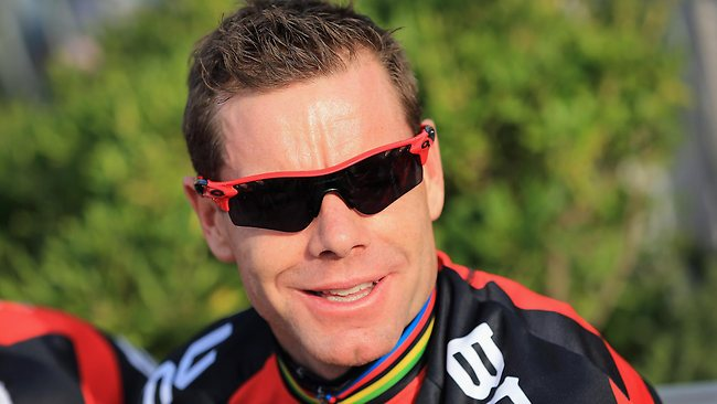 Cadel Evans  image Source - News Corp