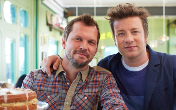 Jamie & Jimmy's Food Fight Club: part of a big new content deal for Foxtel. image - FreshOne
