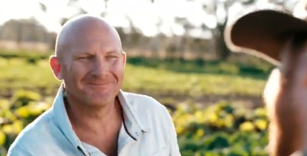 Matt Moran will be showing up on more Farmers doorsteps with season 2 of Paddock to Plate. image - Lifestyle